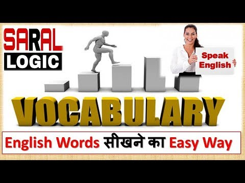 Vocabulary Builder Part 1   100 new words in 15 mins.   By Saral Logic