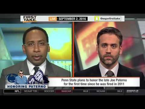 ESPN First Take   Penn State To Honor Joe Paterno Before Temple Game