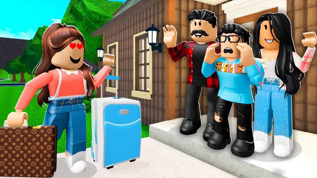 My Family ADOPTED My EX GIRLFRIEND! (Roblox)