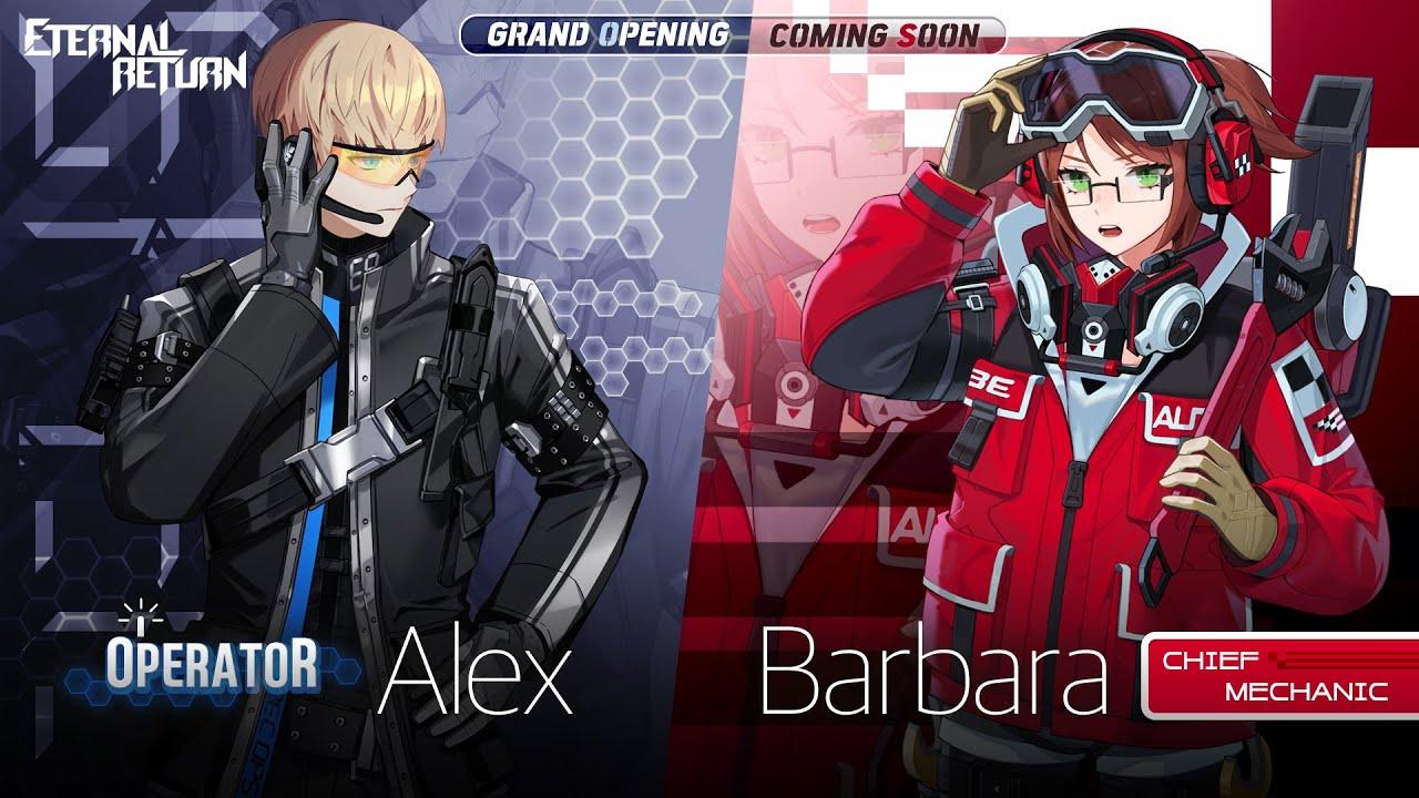 Operator Alex & Chief Mechanic Babara Skin Preview - Eternal Return