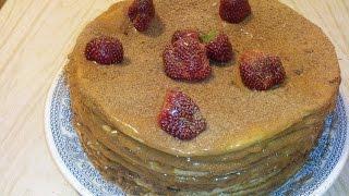 медовый торт. Торт медовик рецепт со сгущенкой