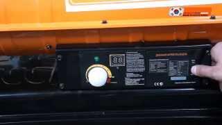 видео Меры безопасности при работе с дизельными тепловыми пушками
