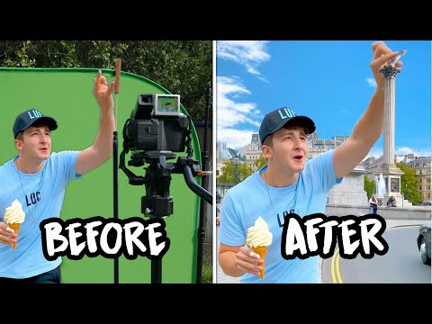 Turning Statues Into Food!! (EXPOSED) #Shorts