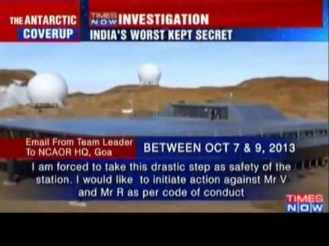 Probe Ordered Into Shutdown At India's Antarctica Station