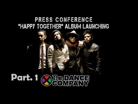 The Dance Company - Part 1 - Press Conference and Launching Album Happy Together Part 1 - NSTV