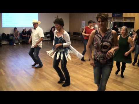 Catalan Line Dance Abend bei Rhinestones Teil - 3