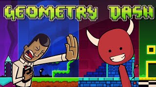 FASE INVERTIDA DO CAPETA! - GEOMETRY DASH