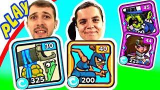 БолтушкА и ПРоХоДиМеЦ Устроили ПОЛНЫЙ Обмен ГЕРОЯМИ! #298 Игра для Детей - Tower Conquest