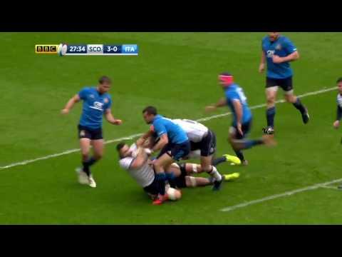 HIGHLIGHTS | Scotland v Italy - RBS 6 Nations
