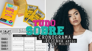 CRONOGRAMA CAPILAR + HIDRATAÇÃO COM AMIGO DE MILHO #todecacho