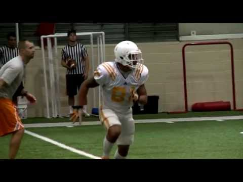 #VolReport: Justin Worley Connects With Johnathon Johnson