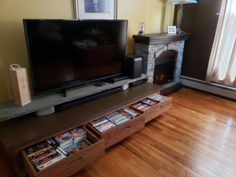 DIY Entertainment Center Under $40