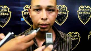 Interrogatorio a Zeta detenido