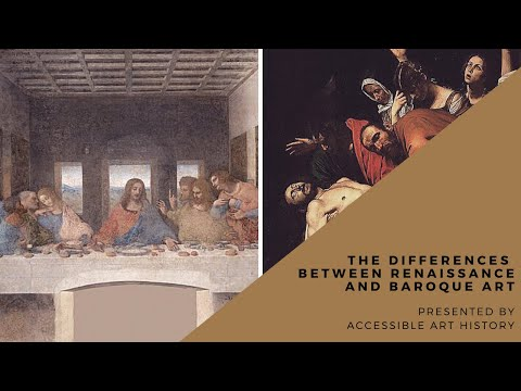 Differences Between Renaissance And Baroque Art