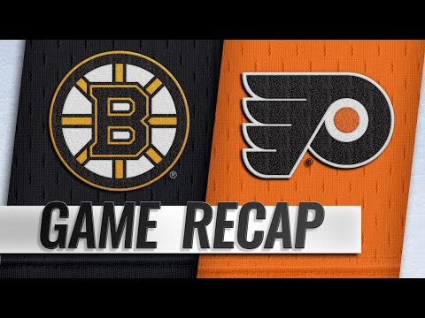 Bruins hold off late comeback by Flyers in 4-3 win