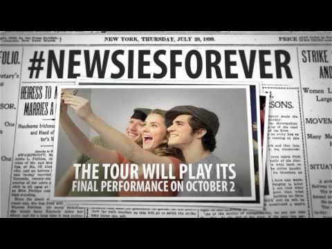 NEWSIES on Tour News!