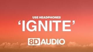 Alan Walker & K 391 Ignite 8D Audio 🎧 ft Julie Bergan & Seungri