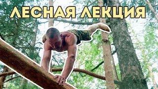 Лесная лекция: как научиться получать удовольствие от физических упражнений