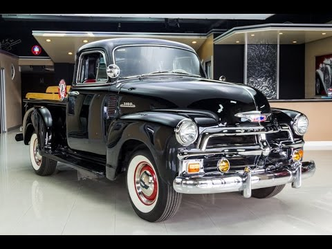 1954 Chevrolet 3100 5 Window Deluxe Pickup For Sale