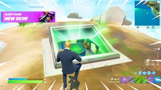 GLITCHING Into The Batcave EARLY in Fortnite!