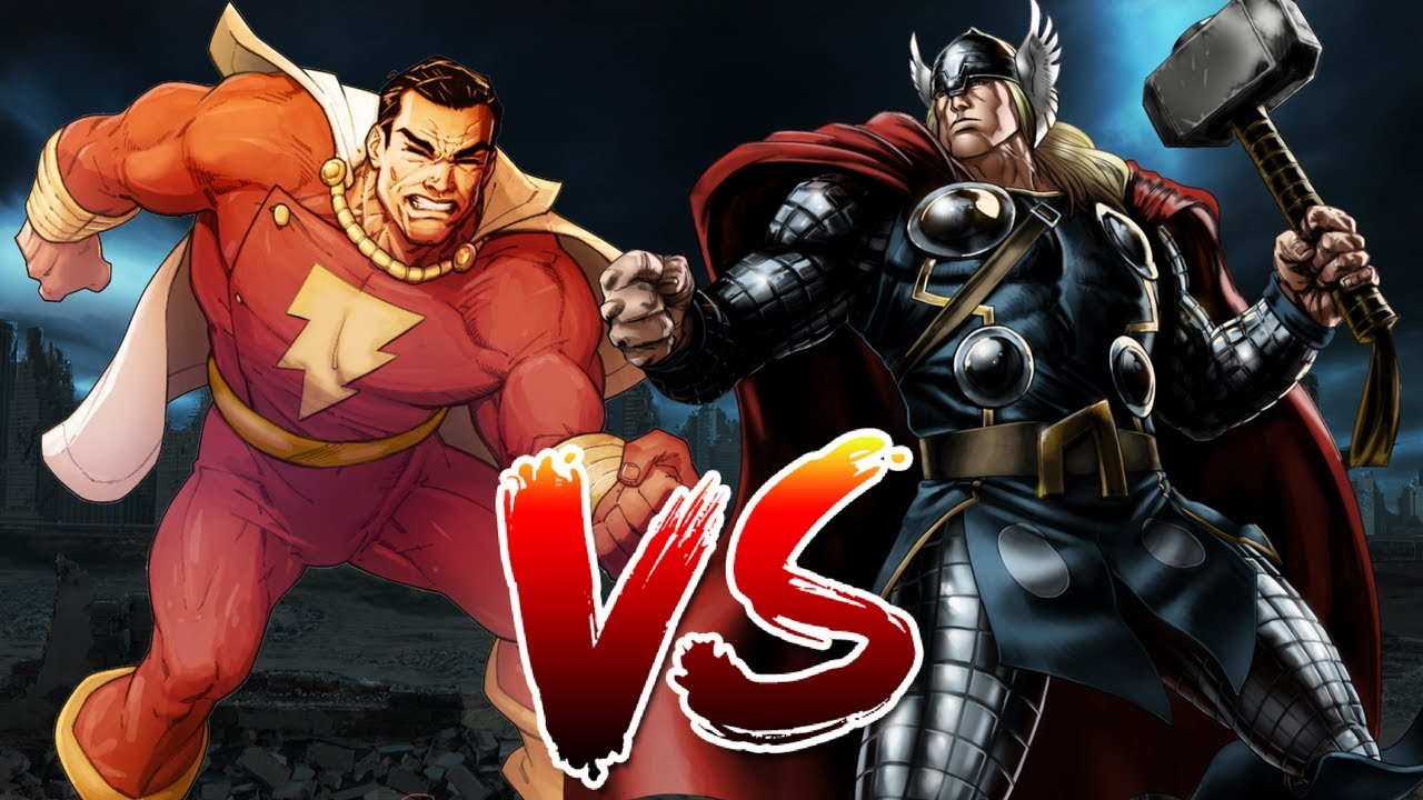 Thor VS Shazam | Who Wins?