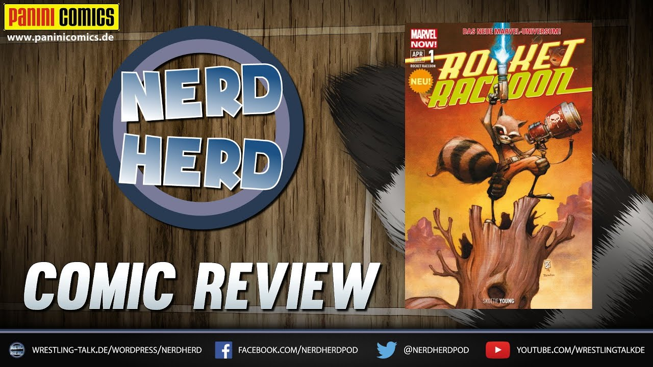 Marvel Comics: Rocket Raccoon 1: Der letzte seiner Art - Nerd Herd Comic  Review [Deutsch/German]