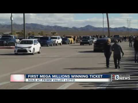 First Mega Millions winning ticket of 2017 sold at Primm Valley Lotto
