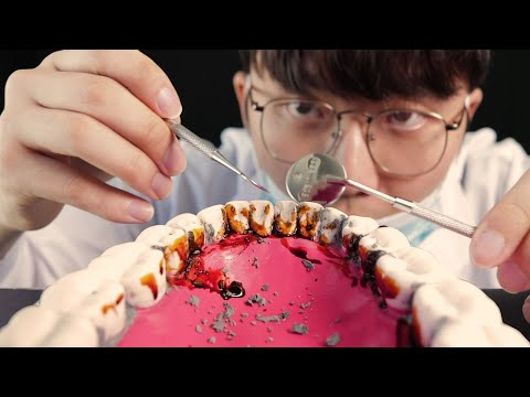 ASMR🦷 Dentist Cleans Your Teeth!!