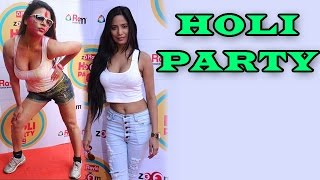 Poonam pandey, rakhi sawant & other stars at zoom holi party | exclusive