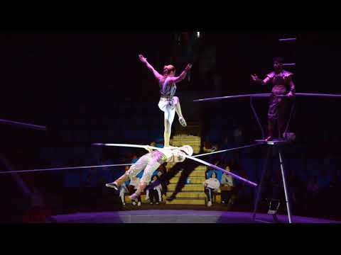 HIGH WIRE ACROBATIC TROUPE, CIRCUS ACT VARIETY PERFORMANCE