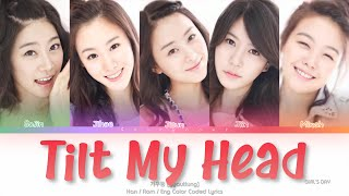 Girl's Day (걸스데이) Tilt My Head (갸우뚱) Color Coded Lyrics (Han…