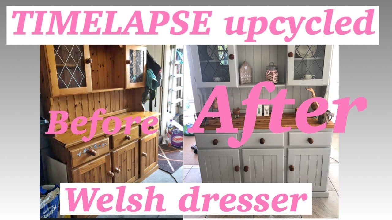Upcycled Farmhouse Welsh Dresser