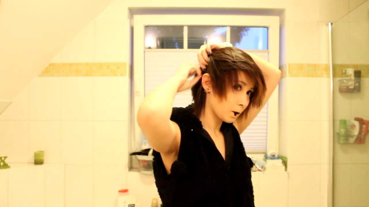 Visual Kei Inspired Look For Short Hair 3 Youtube