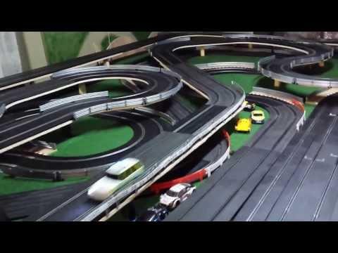 Scalextric bourgogne nouveau circuit 55 mètres