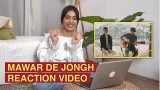 """Mawar De Jongh """"Sedang Sayang Sayangnya"""" Cover  Reaction   #TOPReactionCover"""