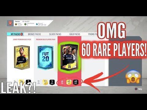 FIFA 20 | 60 RARE PLAYERS PACK GLITCH | NEW PACK LEAK!?