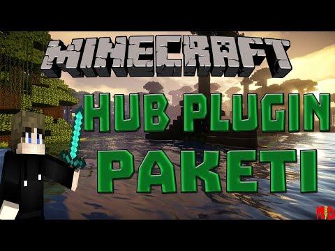Minecraft HUB Plugin Paketi Ve Map ! (10 TL)