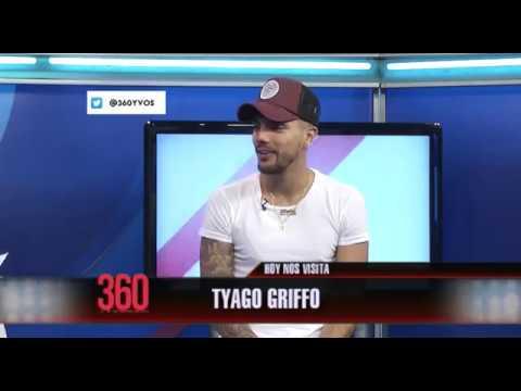 """Tyago Griffo """"estoy soltero, disfrutando la música"""" - #360yvosTV"""