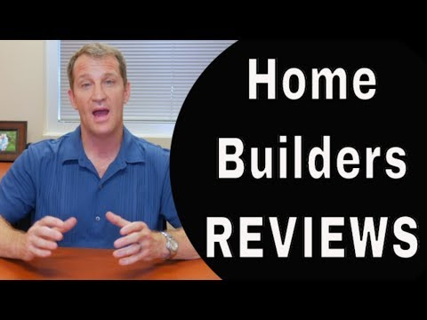 (Don't Believe) Home Builder Reviews