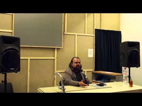 Vinay Gupta talk, Amsterdam 21/10/2015