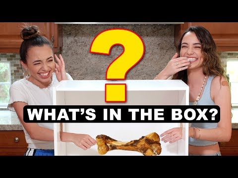 What's In The Box Challenge! Merrell Twins