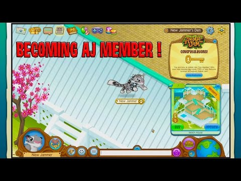 ANIMAL JAM Getting 6 Month Membership, Buying Animals and a Den - Animal Jam Online Game Play