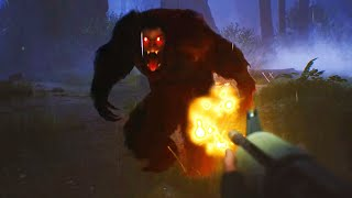 A CREATURE ATE ALL OF MY FRIENDS NOW ITS HUNTING ME. - BIGFOOT 4.0 Gameplay