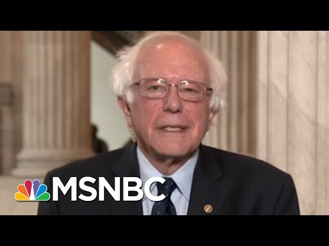 Bernie Sanders Weighs In On Alexandria Ocasio-Cortez's Victory | Andrea Mitchell | MSNBC