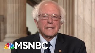 Bernie Sanders Weighs In On Alexandria Ocasio-Cortez's Victory | Andrea Mitchell | MSNBC