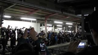 2014 3 14大宮駅鉄道罵声大会 最終あけぼの
