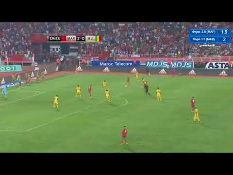 Maroc mali 3 0 but hakim ziyech qualifications coupe du monde 2018 youtube - Maroc qualification coupe du monde ...