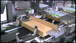 ARPAC's EL-2000 Tray Packing Machine and 25TW Tray Wrapper Integrated End-Of-Line Packaging System