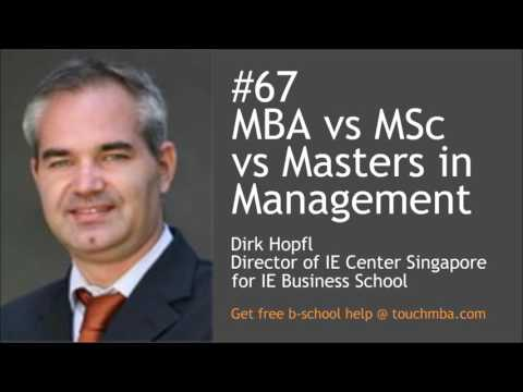 MBA vs MSc vs Masters in Management – Which is the Right Masters Degree for You?