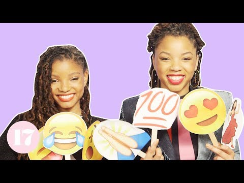 chloe-x-halle-tell-their-most-embarrassing-stories-with-emojis